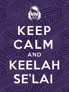 Mass Effect, Tali, Quarian, Keep Calm, Video Game, Print #masseffect #tali #keepcalm #game