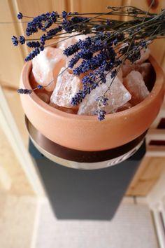 Sole-Therme Salzverdampfer für Infrarotkabinen und Saunen. Wohlfühloase Zuhause Ice Cream, Wellness, Food, Ad Home, Health, Sherbet Ice Cream, Meal, Essen, Hoods