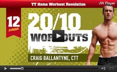 Free workout video that not only burns fat but is great for improving V02 max as well!