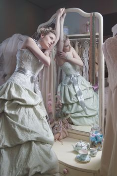 """""AQUARELLE"" wedding gown by IMMAGIKA www.facebook.com/immagikadesigns"