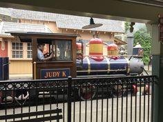 Train at Cedar Point, the Judy K.