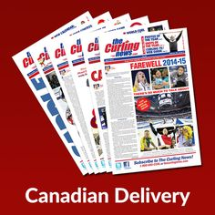Purchase/renew subscription to The Curling News (Canadian Delivery) for Christmas 2017, 1 Year, Calendar, Delivery, Life Planner
