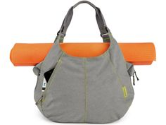 Timbuk2 Scrunchie tote doubles as a yoga-mat carrier