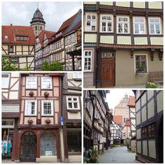 Fachwerkstadt Hann. Münden. Niedersachsen. Germany.
