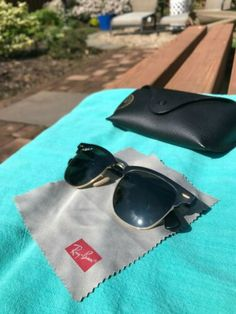 eBay Ray-Ban Clubmaster: Aluminum - Black Aluminum Frame, 51mm Polarized, Green #RayBan #RayBanSunglasses #Sunglasses #style #Accessories #shopping #styles #outfit #pretty #girl #girls #beauty #beautiful #me #cute #stylish #design #fashion #outfits #diy #design