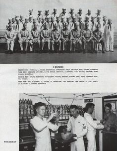 USS Alabama (BB 60) World War II Cruise Book 1942-44 - Medical Department Vintage Pictures, Old Pictures, Uss Alabama, Mobile Alabama, Vintage Photographs, World War Ii, Cruise, Bb, Medical