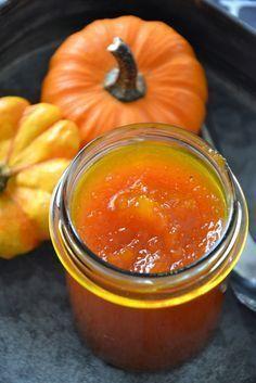 Confiture de potimarron à la vanille (pumpkin jam with vanilla)