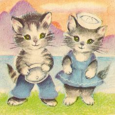 Hey!  We had this in a book growing up.  But what book was it?  Was it Tommy Cat?