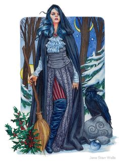 Winters Witch by Jane Starr Weils.
