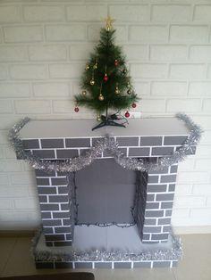 Grinch Christmas Decorations, Christmas Crafts To Make, Diy Halloween Decorations, Diy Christmas Ornaments, Office Christmas, Simple Christmas, Christmas Holidays, Diy Christmas Fireplace, Theme Noel
