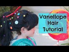 ▶ Vanellope Hair Tutorial - YouTube