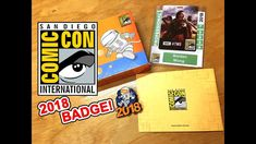 Guess what came in the mail today. San Diego Comic Con 2018 Badge! Watch me unbox! Please Like, Share, and Subscribe to my YouTube channel! https://youtu.be/53nio0TBank