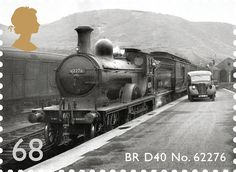 Classic Locomotives of Scotland #SpecialStamp from 2012