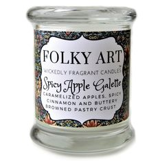 SPICY APPLE GALETTE - 12 OZ JAR CANDLE