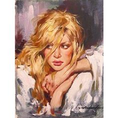 Andrew Atroshenko paintings illustration  Drawings  Women portrait