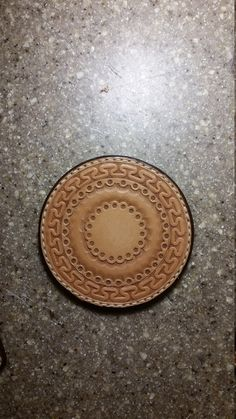 Hand Tooled Hand Stitched Leather Coasters by JKCustomLeather