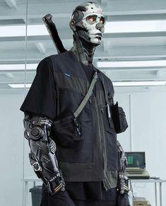 How to 3D Model a Cyberpunk Robot
