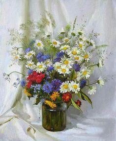 Catherine (Ekaterina) Kalinovskaya, still life Russian painter
