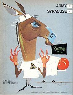 Army Black Knights vs Syracuse Orange Football Program- 9/19/1970