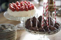 Cakepops med nutellafyllning