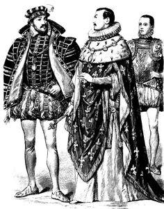Генрих II Наваррский и Клод I Лотарингский