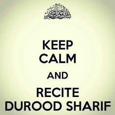 Recite Durood Sharif a lot