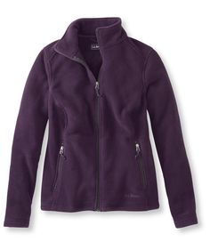 Dark Violet Women's Trail Model Fleece Jacket