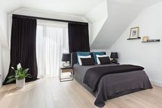 20 najpiękniejszych sypialni 2019 roku - Galeria - Dobrzemieszkaj.pl Bed, Furniture, Home Decor, Decoration Home, Stream Bed, Room Decor, Home Furnishings, Beds, Home Interior Design