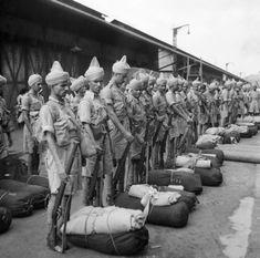 Soldaten uit India, ww1.