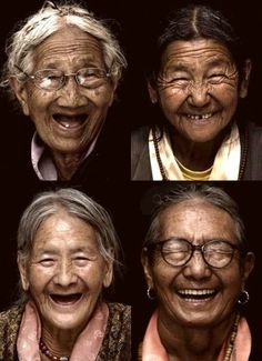 If smiling contributes to wrinkles...bring them on! Expression lines like these are proof of a joyous life lived fully!