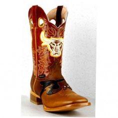 Jugo Boots® 858 Bota de Hombre Rodeo Crazy Jar Cognac Nokona Rodeo Boots, Cowboy Boots, Jar, Shoes, Fashion, Cowboys, Knights, Boots, Style