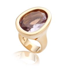 An amethyst and gold ring #christiesjewels