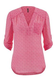 the perfect blouse in diamond patterned print (original price, $29) available at #Maurices