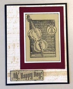 Musical Interlude card sketch 1217 #clubscrap