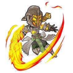 Destiny Warlock Battle Axe by KevinRaganit.deviantart.com on @DeviantArt