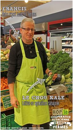Le Chou Kale, Agriculture Raisonnée, Strasbourg, Fruits And Veggies, Sprouts