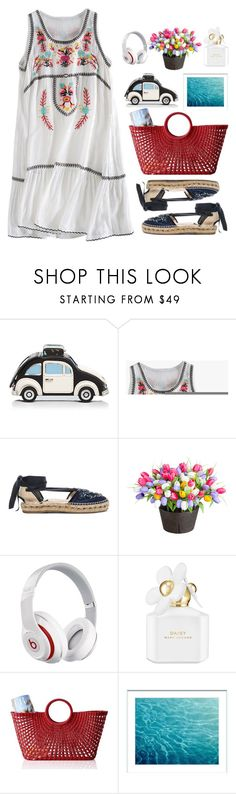 """""""03.08.17"""" by malenafashion27 ❤ liked on Polyvore featuring Kate Spade, Oscar de la Renta, Improvements, Beats by Dr. Dre, Marc Jacobs and Mark & Graham"""