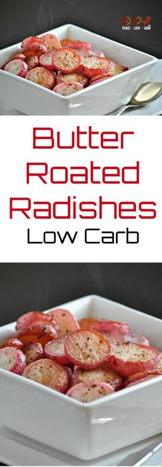 Butter Roasted Radishes - Low Carb, Primal