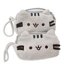 Pusheen Cat Plush, Cute Makeup Bags, Kids Stationery, Cute Plush, Makeup Pouch, Kids Bags, Bag Storage, Cosmetic Bag, Coin Purse