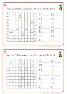 Kostenlose Übungen und Aussgaben zum Hunderterfeld (Hundertertafel ...