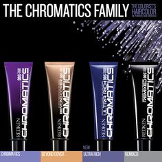 Redken Chromatics Family.