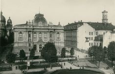 Muzeum Narodowe im. Andrzeja Szeptyckiego (Muzeum Przemysłowe, Національний музей імені Андрея Шептицького), Lwów - 1925 rok, stare zdjęcia