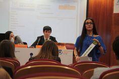 Comités y alumnos/as en marcha #sekmun2015 #sekelcastillo