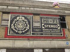 Shepard Fairey, Grey Eagle Street, E1.