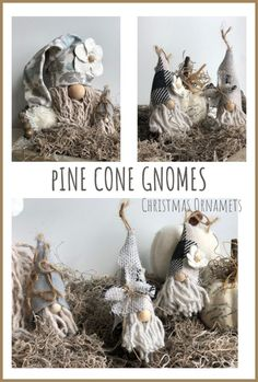 Let's make gnome Christmas  ornaments. Super easy to follow instructions. Enchanted Christmas tree. Gnome diy