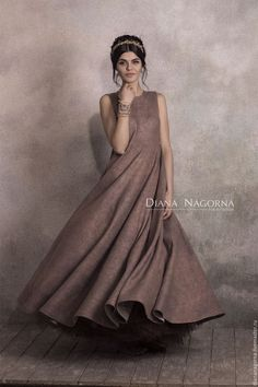 Платья ручной работы. The Pink Ash Dress. платье из мериносовой шерсти и шелка. Диана Нагорная (diananagorna). Интернет-магазин Ярмарка Мастеров.
