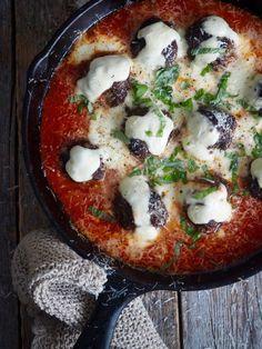 Italienske kjøttboller i tomatsaus Ethnic Recipes
