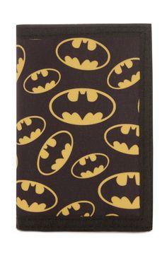 Primark - Black Batman Wallet