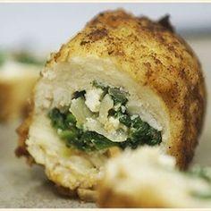 Spinach Ricotta stuffed chicken dinner-ideas