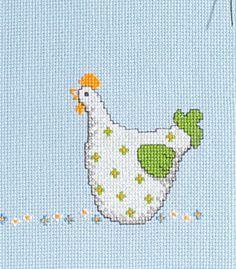 Kreuzstich Kreativ -Monatsbilder Farm Yard, Pattern Blocks, Hens, Happy Easter, Decoration, Cross Stitch Patterns, Primitive, Needlework, Cow